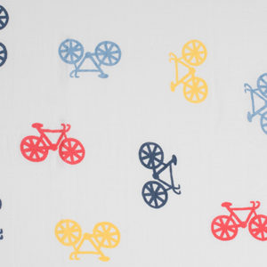 Deanie Organic Baby Classic Bikes Uno (Swaddle)