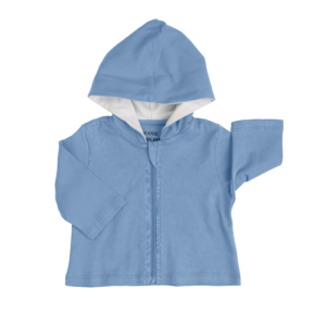 Deanie Organic Baby - Light Blue Hoodie