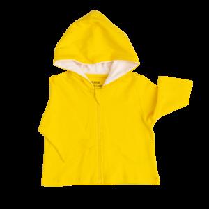 Deanie Organic Baby - Sunshine Yellow Hoodie