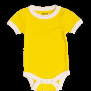 Deanie Organic Baby - Sunshine Yellow Bodysuit