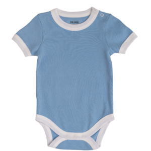 Deanie Organic Baby - Light Blue Bodysuit