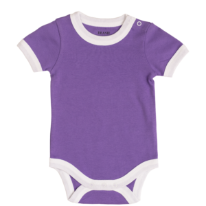 Deanie Organic Baby - Royal Purple Bodysuit