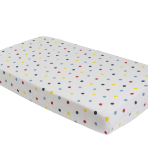 Deanie Organic Baby - Polka Dot Crib Sheet