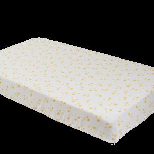 Deanie Organic Baby - Starlight, Star Bright Crib Sheet