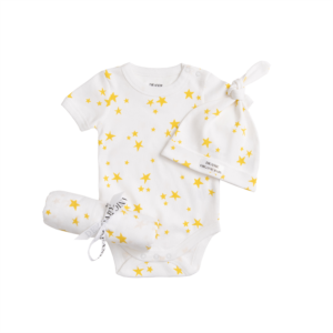Deanie Organic Baby - Starlight, Star Bright Bodysuit