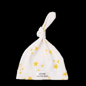 Starlight, Star Bright Logo Deanie Organic Baby Hat